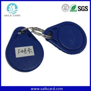 Uid Code 125kHz Blue Passive Waterproof RFID Keyfob pictures & photos