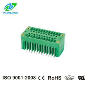 UL Approved Plug-in Terminal Block (ZB15EDGVHM) Pitch 3.5/3.81mm with Screw