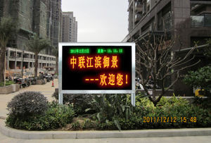 P10 Dual Color LED Billboard Sign pictures & photos