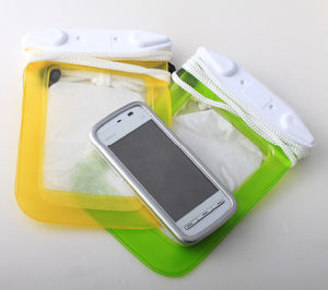 New Summer Swimming Pool Waterproof Cell Phone Bags (YKY7221) pictures & photos
