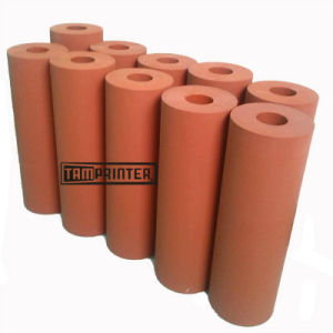 Red Rubber Roller Silicone Roller for Heat Transfer Machine pictures & photos
