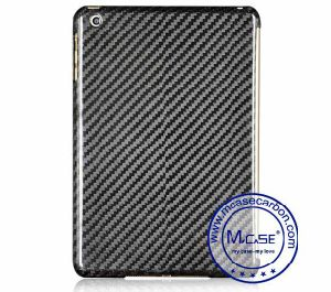 Black 100% Real Carbon Fiber Cover Case for iPad Mini 3 pictures & photos