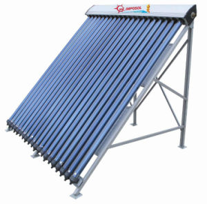 High Pressurized 58mm Evacuated Tube Heat Pipe Solar Collector pictures & photos