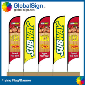 Outdoor Advertising Banner Printing, Flag Banner (Style B) pictures & photos