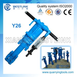 Y26 Hand Held/Pneumatic Rock Drill for Drilling Rocks pictures & photos