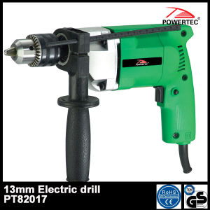 Powertec 600W 13mm Electric Impact Drill (PT82017) pictures & photos