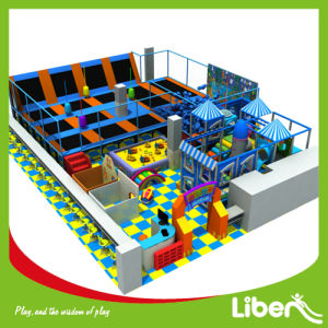 New Indoor Kids Play Equipment with Bungee Trampolines & Soft Toys pictures & photos