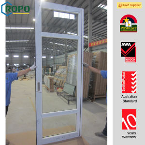 Swing Open Style and UPVC Profile Material Glass Door pictures & photos