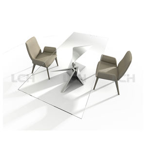 Glass Modern Design Dining Table
