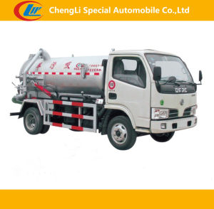 Dongfeng 4*2 Sewage Vacuum Truck pictures & photos