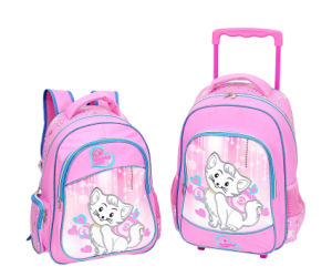 300d Polyester Children Troley School Bag with Printing (BSH20639) pictures & photos