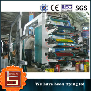 Ruian Lisheng 6 Colors Flexo Printing Press pictures & photos