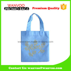 Wholesale Custom Logo Printing Blue Non Woven Bags for Shopping pictures & photos