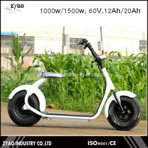 1000W Two Wheels Electric Scooter Motor 2 Wheel Scooter for Adults Motorcycle Electric pictures & photos
