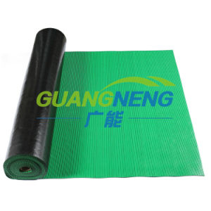 Cloth Insertion Rubber Sheet, Rib Natural Rubber Mat, Color Industrial Rubber Sheet pictures & photos