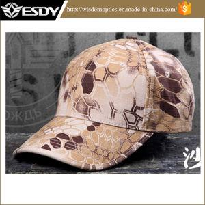 Esdy Camouflage Outdoor Rattlesnake Baseball Cap Desert Camo pictures & photos