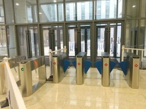 TCP/IP Access Controller Gate Tripod Turnstile (WQH-TS03)