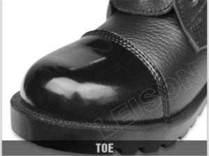 Tactical Boots of Superior Cowhide Leather with Exquisite Sewing Technology pictures & photos