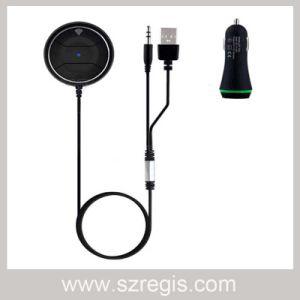 Handsfree Earphone Car Radio Speaker Mini Bluetooth Receiver Adapter pictures & photos