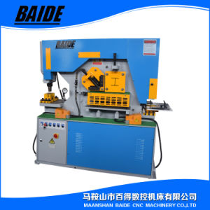 Hydraulic Ironworker Punching Machine for Blanking and Notching