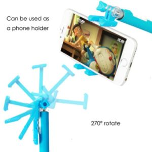 Selfie Stick with Telescopic Built-in Bluetooth Wireless Remote pictures & photos
