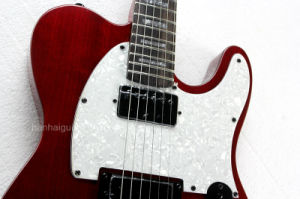 Hanhai Music / Claret-Red Tele Style Electric Guitar pictures & photos