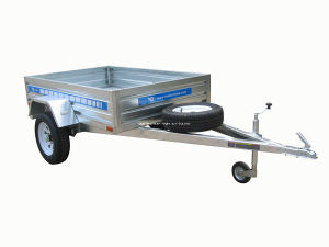 Hot Dipped Galvanized Small Car Trailer/Box Utility Trailer pictures & photos