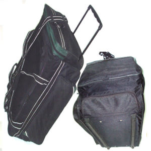 Deluxe Holdall Travel Trolley Bag