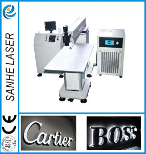 Long-Focus Lens Laser Welding Ads Machine for Logo Identity pictures & photos