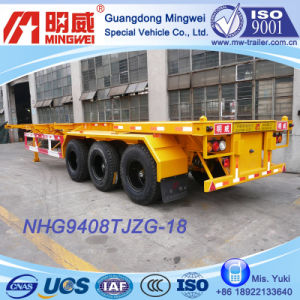 3 Axles Container Transport Semi Trailer (NHG9408TJZG-18G)