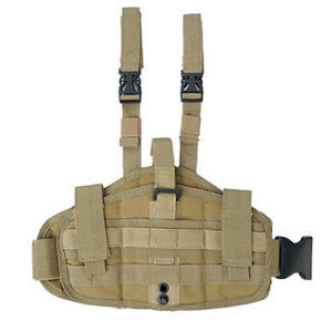 Anbison-Sports Tactical Military Molle Platform Drop Leg Pistol Holster pictures & photos