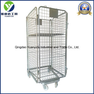 Full Side Security Logistic Storage Packing Trolley Roll Container pictures & photos
