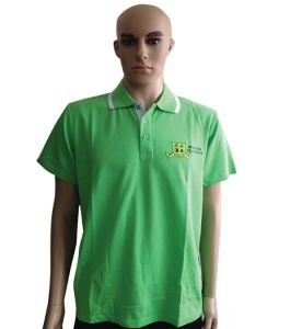 Good Quality Polo Shirt Stock Garment with Competitive Price pictures & photos