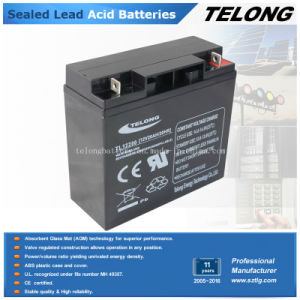 AGM Sealed Lead Acid Battery 12V 20ah pictures & photos