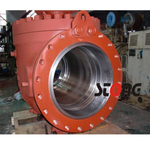 Trunnion Mounted Top Entry Ball Valve pictures & photos