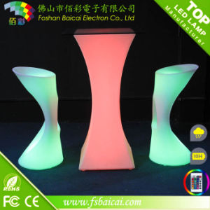 LED Bar Stool Chair Bcr-811c with Remote Control