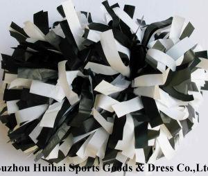 Plastic POM Poms: Black Mix White pictures & photos