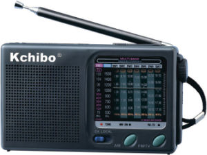 Kchibo Analong Radio Kk-9 FM/MW/Sw1-7 (TV2-5CH) 9 Band Receiver Radio