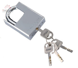 High Quality Shackle Protected Disc Blade Brass Padlock pictures & photos