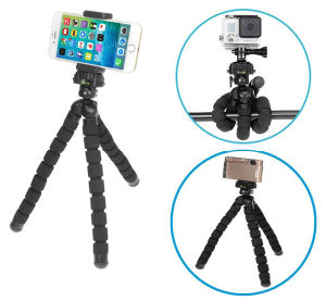 Flexible Tripod Stand Holder for Smartphone/Digital Camera pictures & photos