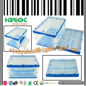 Stackable and Foldable Heavy Duty Plastic Pallet Box pictures & photos