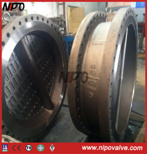 Double Flanged Type Double Disc Swing Check Valve pictures & photos