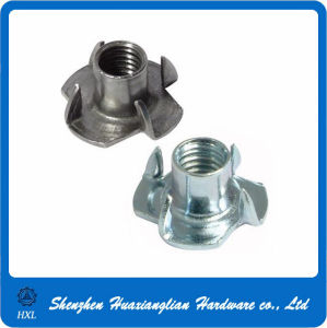 Stainless Steel Three Four Prong Claw Tee Nut (M3-M12) pictures & photos