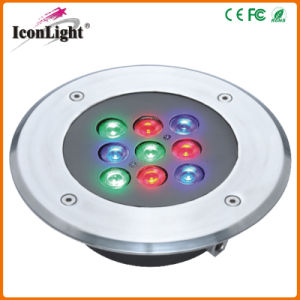 Mini 9*1W RGB LED Garden Light for Outdoor Lighting pictures & photos