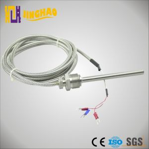 Threaded Connect PT100 Temperature Sensor with Insulated Leadwire (JH-WZPD) pictures & photos