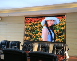 Uhd Full Color LED Display Screen with Pixel Pitch 1.923mm pictures & photos