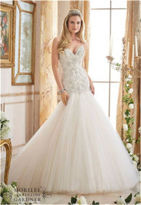 2016 New Hot-Selling Beading Bride Wedding Dress, Customized pictures & photos