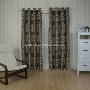 Typical Yarn Dyed Embroidery Like Jacquard Curtain pictures & photos