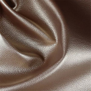 Wholesale High Standard Animal-Friendly Textured Faux Leather for Furniture Sofa pictures & photos