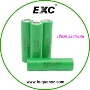Quality Choice 18650 22f 2200mAh 3.7V Li-ion Lithium Ion Battery Most Popular pictures & photos